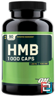 HMB 1000 Caps, Optimum Nutrition, 1000 mg, 90 Capsules