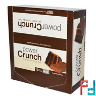 Protein Energy Bar Original, Triple Chocolate, BNRG, Power Crunch 12 Bars, 1.4 oz (40 g) Each