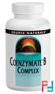 Coenzymate B Complex, Peppermint Flavored Sublingual, Source Naturals, 60 Tablets