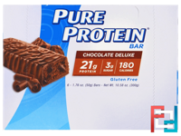 Chocolate Deluxe Bar, Pure Protein, 6 Bars, 1.76 oz (50 g) Each