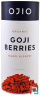 Organic Goji Berries, Hand Picked, Ojio, 8 oz, 227 g