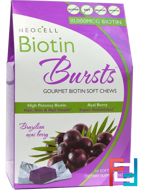 Biotin Bursts, Brazilian Acai Berry, Neocell, 30 Soft Chews