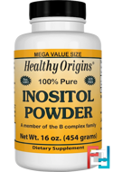 Inositol Powder, Healthy Origins, 16 oz, 454 g