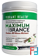 Maximum Vibrance, Version 3.0, Vanilla Bean, Vibrant Health, 22.1 oz (626.4 g)