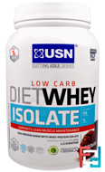 Diet Whey Isolate, Cutting Edge Series, Low Carb, USN, 700 g