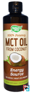MCT Oil From Coconut, Nature's Way, 16 fl oz (474 ml)