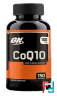 CoQ10, Optimum Nutrition, 100 mg, 150 softgels