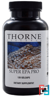 Super EPA Pro, Thorne Research, 120 Gelcaps