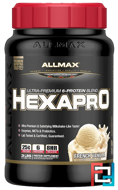 Hexapro, Ultra-Premium Protein + MCT & Coconut Oil, ALLMAX Nutrition, 3 lbs, 1.36 kg