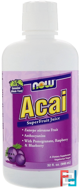 Acai SuperFruit Juice, Now Foods, 32 fl oz, 946 ml