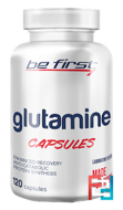 Glutamine Capsules, Be First, 120 capsules