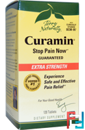 Terry Naturally, Curamin, Extra Strength, EuroPharma, 120 Tablets