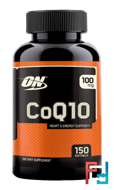Coenzyme Q10, Optimum nutrition, 100 mg, 150 softgels