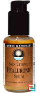 Skin Eternal, Hyaluronic Serum, Source Naturals, 1.7 fl oz (50 ml)
