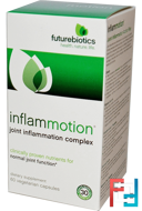 InflamMotion, Joint Inflammation Complex, FutureBiotics, 60 Veggie Caps