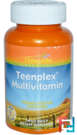 Teenplex Multivitamin, Thompson, 60 Tablets