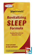 Fatigued to Fantastic!, Revitalizing Sleep Formula, Enzymatic Therapy, 90 Veggie Caps