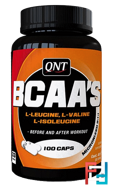 BCAA 2:1:1, QNT, 100 tablets