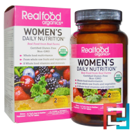 RealFood Organics, Women's Daily Nutrition, Country Life, 120 Tablets
