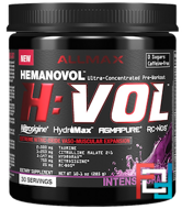 H:VOL, Nitric Oxide Pre-Workout + Vascular Blood Volumizer Intense, ALLMAX Nutrition, 10.1 oz, 285 g
