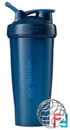 BlenderBottle, Classic With Loop, Navy, Sundesa, 28 oz