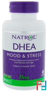 DHEA, 25 mg, Natrol, 300 Tablets