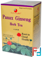 Panax Ginseng Herb Tea, Health King, 20 Tea Bags, 1.20 oz, 34 g