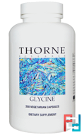Glycine, Thorne Research, 250 Vegetarian Capsules