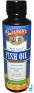 Fresh Catch Fish Oil, Omega-3 EPA/DHA, Orange Flavor, Barlean's, 8 fl oz, 236 ml