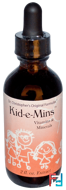 Kid-e-Mins, Vitamins & Minerals, Christopher's Original Formulas, 2 fl oz