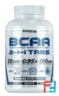 BCAA Tabs 2:1:1, King Protein, 150 tablets
