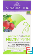 Perfect Prenatal Multivitamin, New Chapter, 192 Tablets