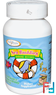 Sea Buddies, Immune Defense, Enzymatic Therapy, 60 Chewable Sparkleberry Tablets