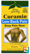 Terry Naturally, Curamin, Low Back Pain, EuroPharma, 60 Capsules