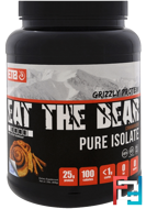 Grizzly Protein, Pure Isolate, Cinnamon Bun, Eat the Bear, 2 lbs (908 g)