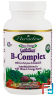 B-Complex with Co-Enzyme Activated B's, Paradise Herbs, 60 Vegetarian Capsules