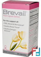 Brevail Plant Lignan Extract, Barlean's, 30 Capsules
