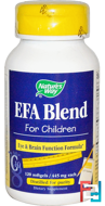EFA Blend, for Children, 445 mg, Nature's Way, 120 Softgels