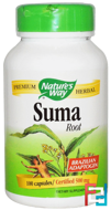 Suma, Root, Nature's Way, 100 Capsules
