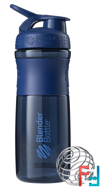 BlenderBottle, SportMixer Tritan Grip, Navy, Sundesa, 28 oz