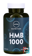 HMB 1000 Muscle Maintenance, MRM, 1000 mg, 60 Capsules