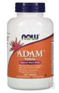 ADAM, Superior Men's Multi, Now Foods, 120 Tablets
