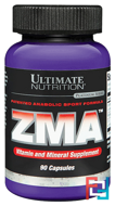 ZMA, Ultimate Nutrition, 90 capsules