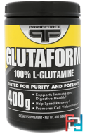 Glutaform, 100% L-Glutamine, Primaforce, 400 g
