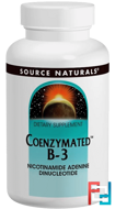 Coenzymated B-3, Sublingual, 25 mg, Source Naturals, 60 Tablets