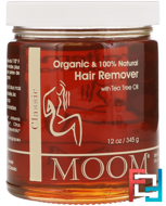 Hair Remover, with Tea Tree Oil, Classic, Moom, 12 oz (345 g)