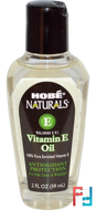 Naturals, Vitamin E Oil, 50,000 IU, Hobe Labs, 2 fl oz (59 ml)