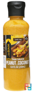 Thai Sauce Peanut & Coconut, Mild, deSIAM, 8.4 fl oz (250 ml)