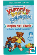 Yummi Bears, Complete Multi-Vitamin, Sugar Free, Fruit Flavors, Hero Nutritional Products, 60 Gummy Bears