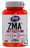 ZMA, Sports Recovery, Now Foods, Sports, 90 Capsules